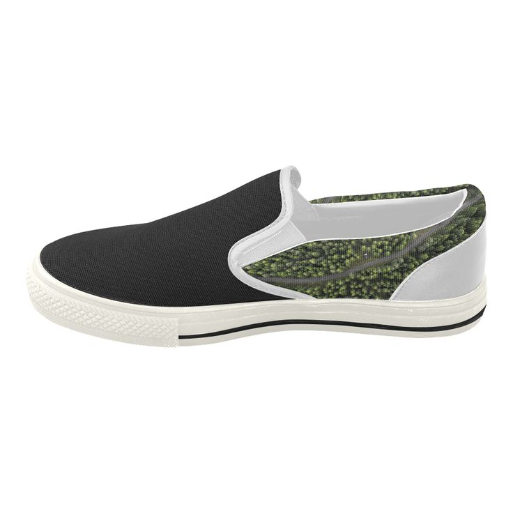 "New! Designers easy Shoes with ""Area forest"". Edition 2016 : New arrival in our Designers  Women's Slip-on Canvas Shoes (Model 019)."