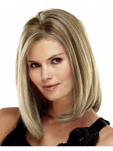 fuss blonde lace front shoulder
