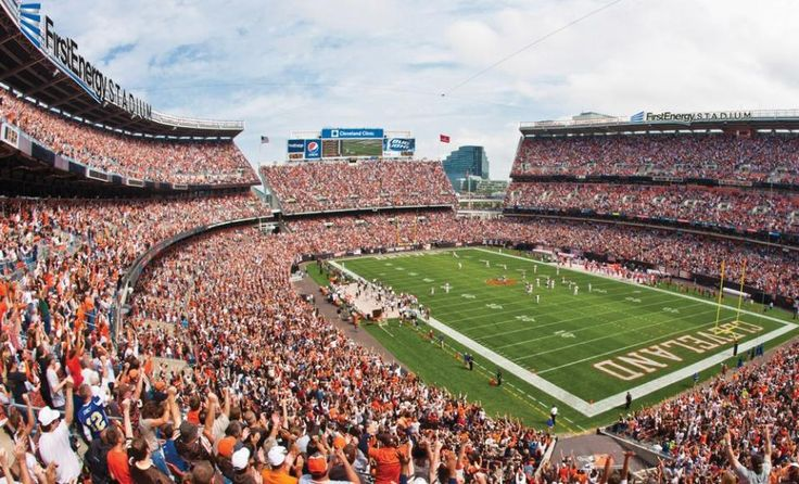 first energy stadium - home of the browns