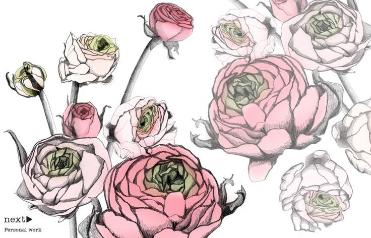christina drejenstam: Christina Drejenstam, Blossoms Style, Open Spaces, Style Inspiration, Illustration, Design Queen, Artists Items, Rosa-Shocked Flora, The Roller Coasters