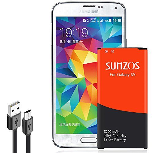 Welcome to my blog where we will be looking at the new Galaxy S5 Battery, SUNZOS 3200mAh Li-ion Replacement Battery for Samsung Galaxy S5/S5 Active [ I9600, G900F, G900V ( Verizon) , G900T ( T-Mobile ), G900A ( AT&T ),G900P(Sprint)] [3 Years Warranty].  The Galaxy S5 Battery, SUNZOS...