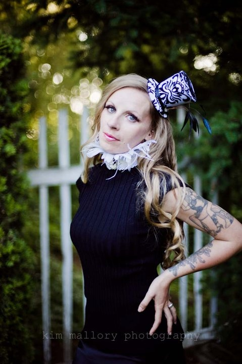 Damask Mini Top Hat  Customize yours today!