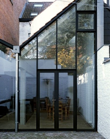 Architectura - Belgische Architectuurprijzen: Rijwoning van ONO architectuur in Antwerpen
