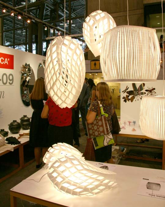 Heath Nash recycled lamps