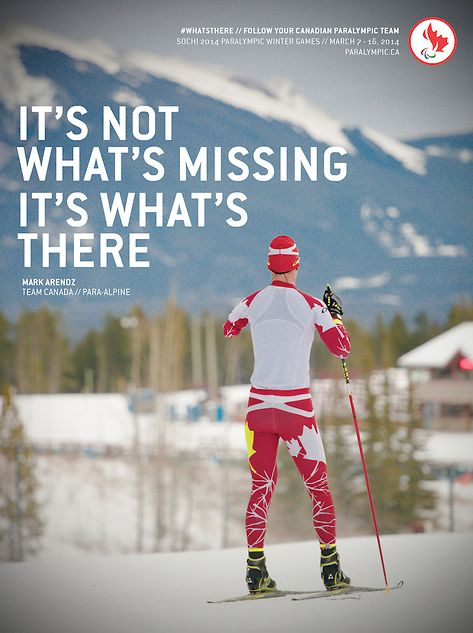 It's not what's missing, it's #WHATSTHERE #WeAreWinter