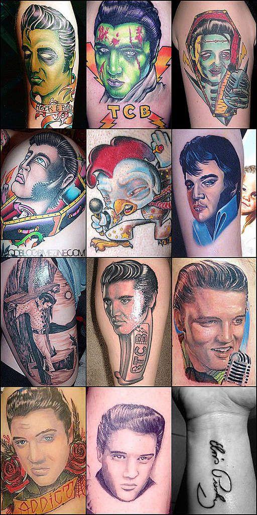 Elvis presley tattoo tattoo ideas pinterest for Elvis presley tattoos