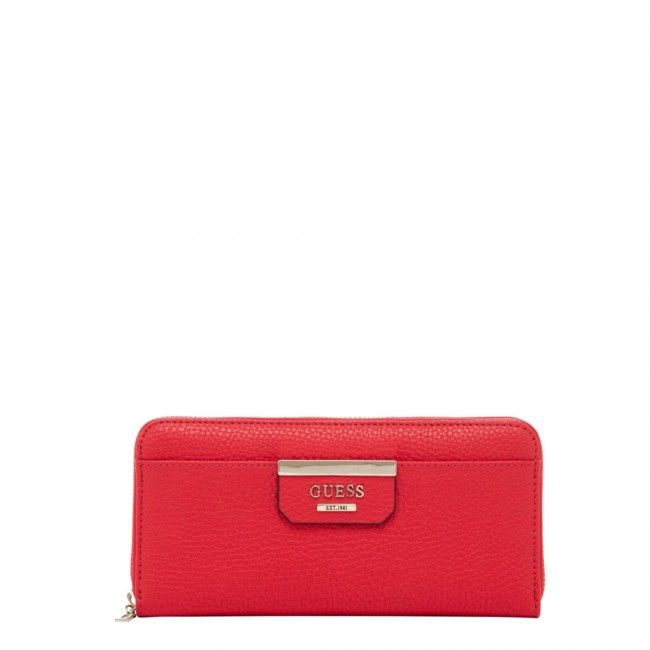 Guess Bobbi zip around wallet LV6422460 - #guess #bags #handbags #fashion #glamour #borse #women #donne #donna #moda #stile