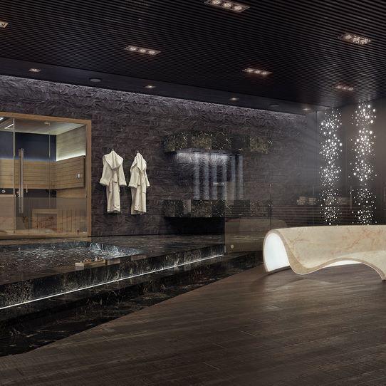 Le Bijou luxury hotel spa design