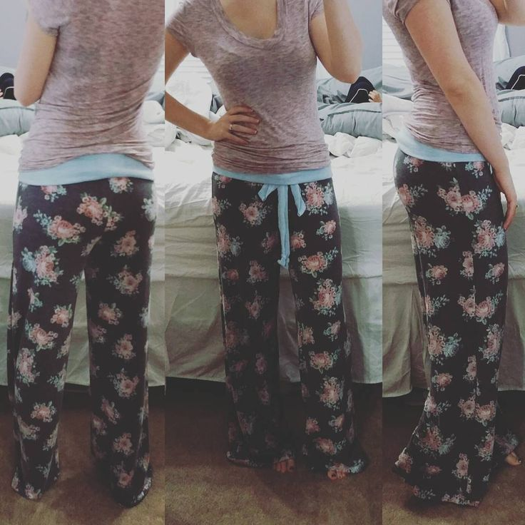 Sewing pdf pattern by Patterns for Pirates straight palazzos pants lounge sweats sweat pants cute floral flannel pjs women's ladies juniors plus tutorial