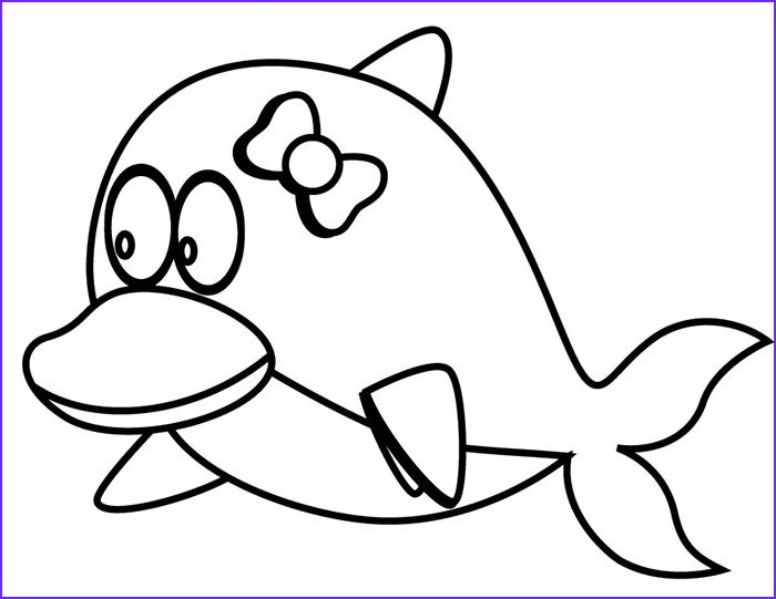8 Beautiful Baby Dolphin Coloring Pages Image With Images