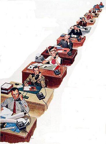 oficina ausente by el blog ausente, via Flickr