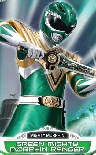 Green Mighty Morphin Power Ranger