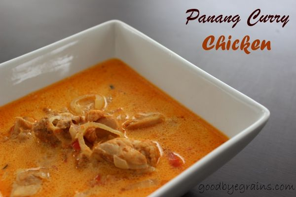 paleo} panang curry chicken
