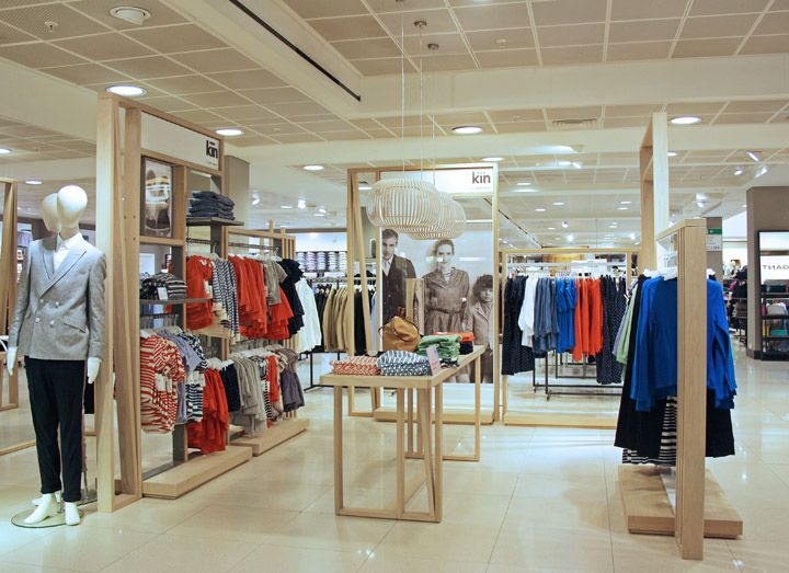 Kin by John Lewis store by RFK Architects store design