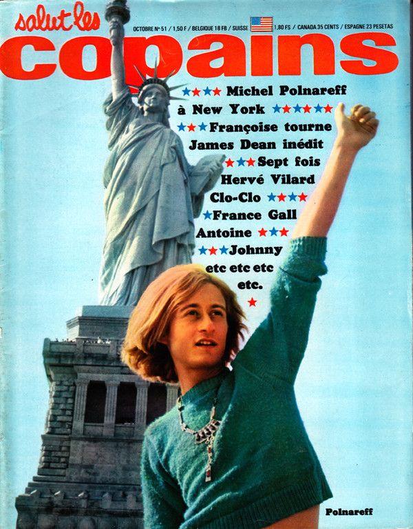 Michel Polnareff à la une de Salut Les Copains - Magazine n° 51 octobre 1966