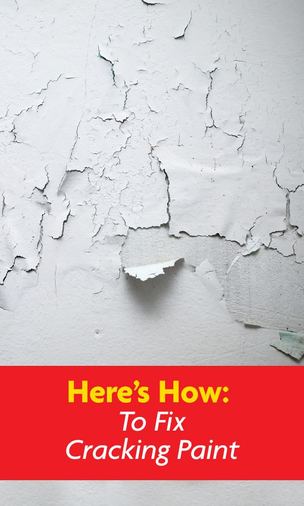 Is your paint cracking? Early on, the problem appears as hairline cracks which then later will lead to flaking of paint chips occurs. We have a range of possible causes as to why your paint may be doing this as well as helpful solutions! Here's How