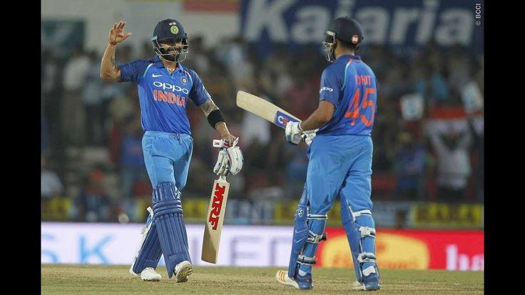 India VS Australia | 5th ODI Highlights | ((EA Sports) 2017