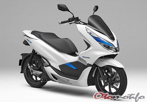 Harga Honda Pcx Hybrid 2020 Spesifikasi Gambar Terbaru Otomotifo Skuter Honda Motor Honda