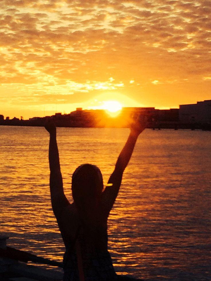 Sun set life in Perth. Perfect. :) @TeamWhites photo.