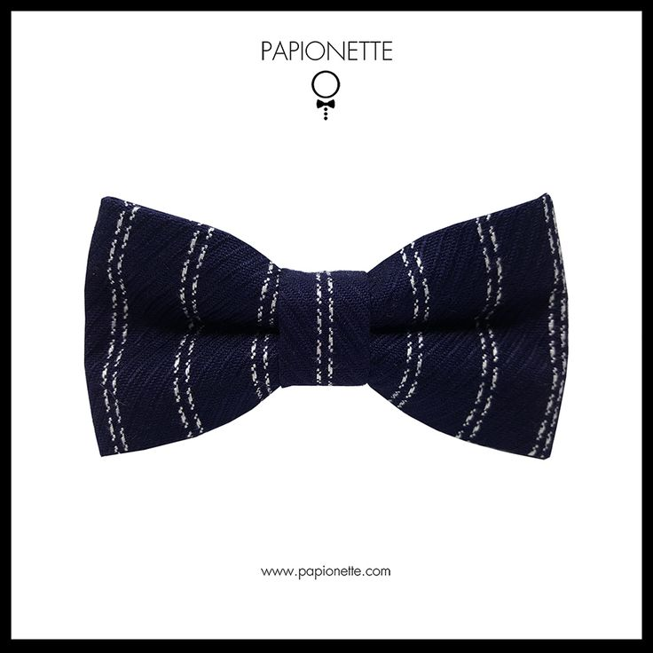 Papion Navy White Stripes - Papionette