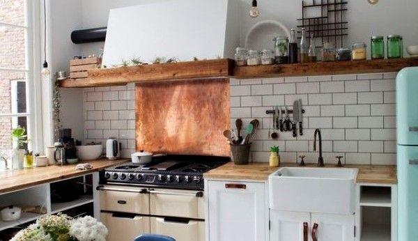 Een gasfornuis als pronkstuk in de keuken