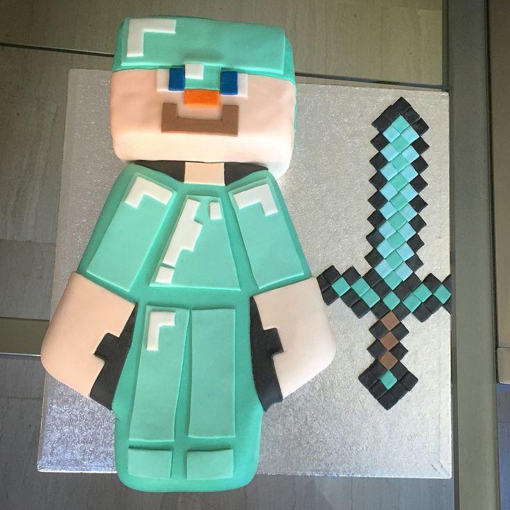 Torta Minecraft  #instafood #ilas #ilasSweetness #cakedesign #pastadizucchero #compleanno #minecraft  www.ilas.webnode.it www.facebook.com/ilascake