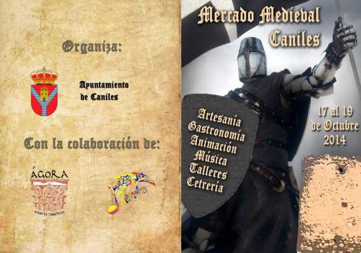 17  al 19 de Octubre - mercado medieval en Caniles, Granada http://mercadillosmedievales.com/ultimas-noticias/2663-17-de-octubre-al-19-de-octubre-mercado-medieval-en-caniles-granada @granadaturismo @granadaNoticias