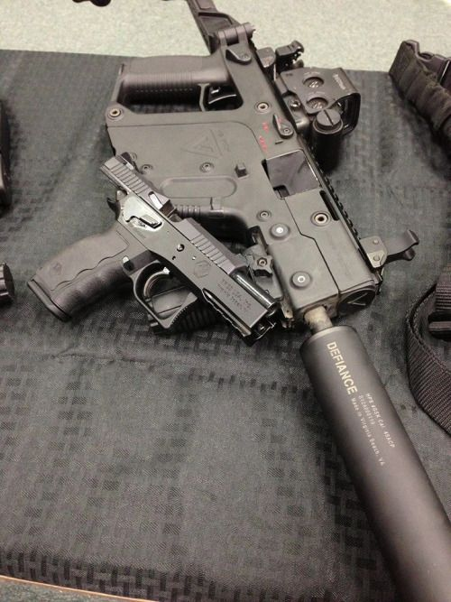 KWA KRISS VECTOR SMG looks so clean!