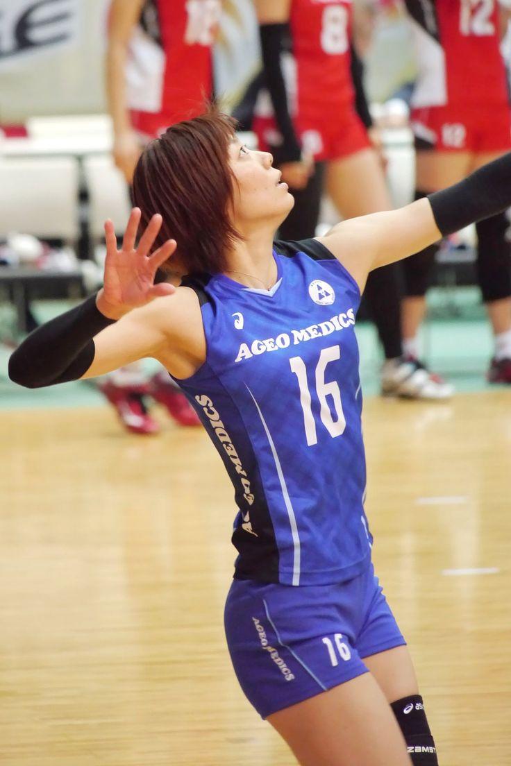 2014/15 Vプレミアリーグ ファイナル6 大田大会 上尾メディックス 皆本明日香 選手