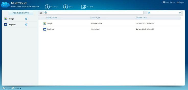 MultCloud lets you manage multiple cloud accounts & drives