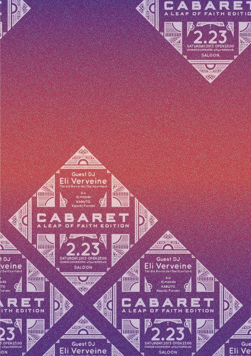 RA: Cabaret -a Leap of Faith Edition- Feat. Eli Verveine at Saloon, Tokyo (2013)