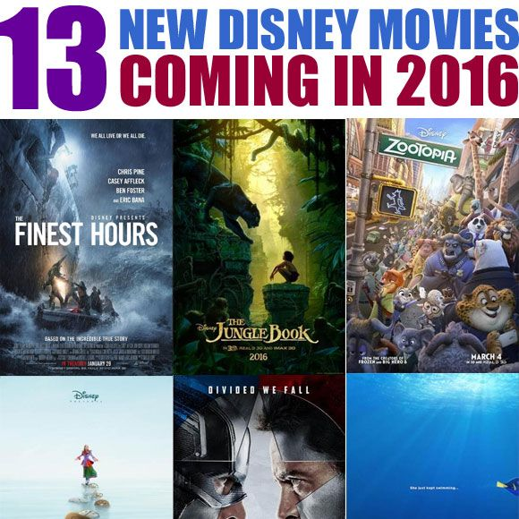 Walt Disney Studios, Walt Disney Animation Studios, Marvel, Disney/Pixar, and Lucasfilm just announced their full line-up of all new movies coming out this year. What will you be most excited to se…