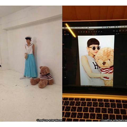 . 2014.04.11 Yui's Room Gallery Updated NYLON Japan 5月号 Cute Gakki with teddy bear! 🐻😘 #新垣結衣 #aragakiyui