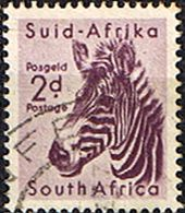 South Africa 1954 Wild Animals SG 154 Zebra    Fine Used    SG 154 Scott 203    Condition  Fine Used    Only one post charge applied on multipule