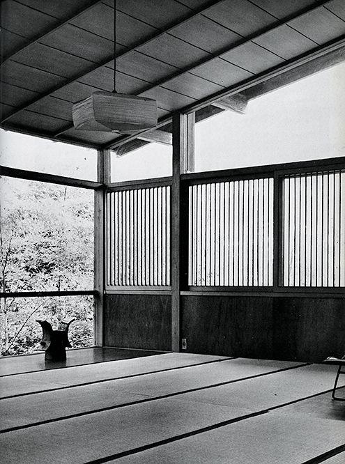 Kenzo Tange (Japanese 1913 – 2005)   Tange Residence   Tokyo, Japan   1951-1953