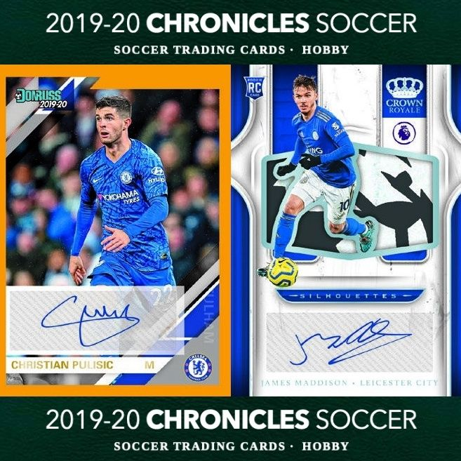 2019 20 Panini Chronicles Soccer Cards Set Details In 2020 Soccer Cards Soccer Christian Pulisic