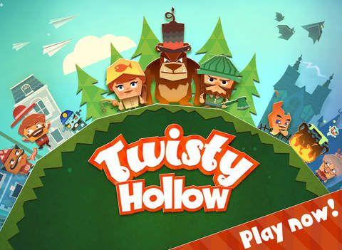 Twisty Hollow by Arkadium