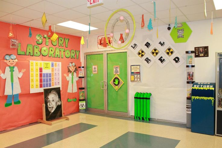 Classroom Decor Science ~ Best images about summer reading decorations on