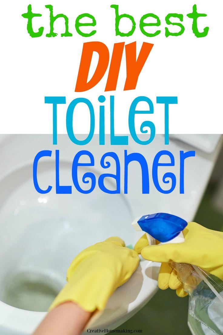 All Natural Homemade Toilet Cleaner | Homemade toilet ...