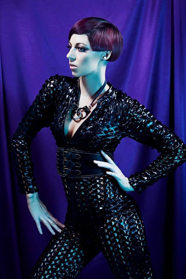 #allure #allurecollection #hair #haircut #short #violet #sharp #sleek #hairtrend #hairtrends2014 #iwantthathair #precision #sexy #hot #heroine #vixens