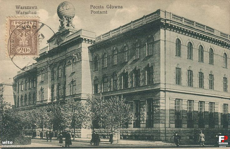 Main Post Office, 1917