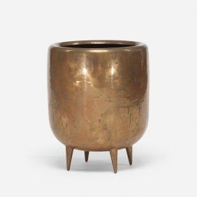 Lot: Gio Ponti rare planter, Lot Number: 0386, Starting Bid: $2,400, Auctioneer: Wright, Auction: Design, Date: October 22nd, 2015 EDT