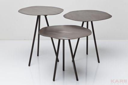 Side Table Epoca Tube (3/Set)
