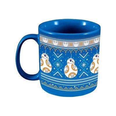 Vandor Star Wars BB-8 Ugly Sweater Ceramic Coffee Mug