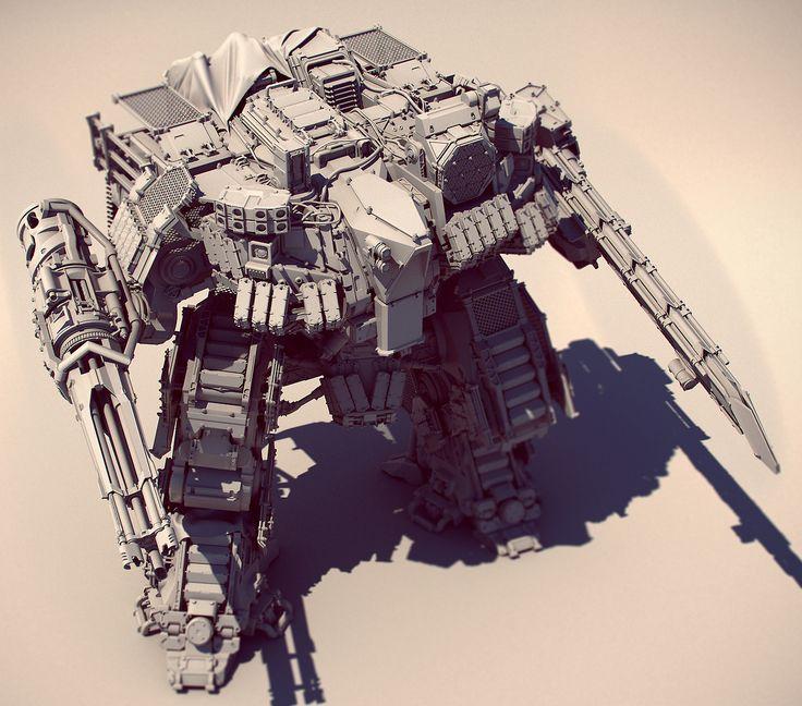 UDemy – Photoshop – Learn to Draw Mechs - zonegfx.com