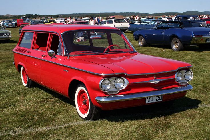 1961 Chevrolet Corvair Station Wagon... Re-pin Brought to you by #HouseofInsurance in #EugeneOregon for #LowCostInsurance