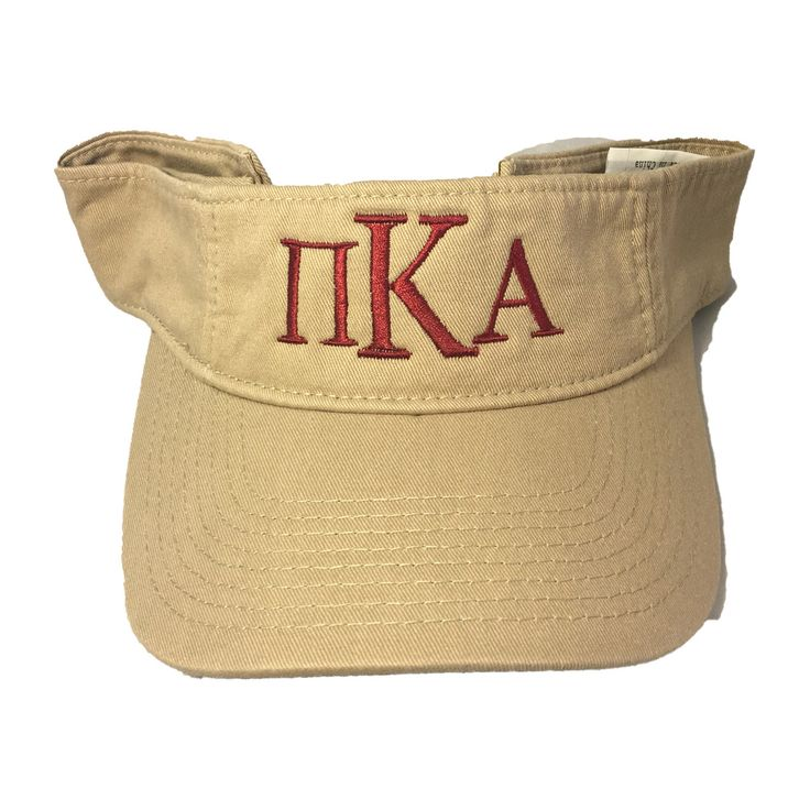 Pi Kappa Alpha PIKE Fraternity Visor - Brothers and Sisters' Greek Store
