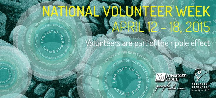 Happy National Volunteer Week 2015!
