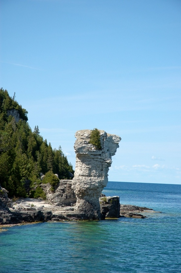 Flower Pot Island, Canada is well-named! - Bay of Fundy