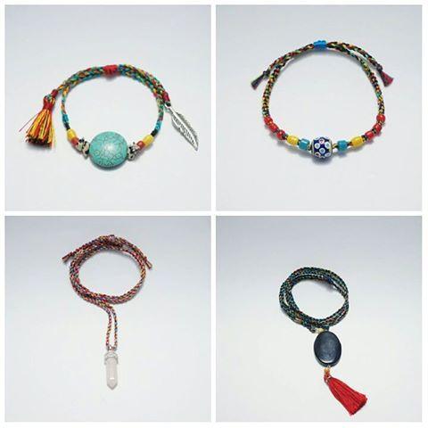 Available @rideincstore // jl.diponegoro 19 Malang (samping bakso bakar pak Man) // LINE : rideinc 🌿🌿🌿 • #malang #labdagatic #handmade #jewelry #accessories #rideincstore #localbrand #Indonesia #popethnic #love #tibetanbracelet #bohemian #hippies #glassbeads #naturalstone